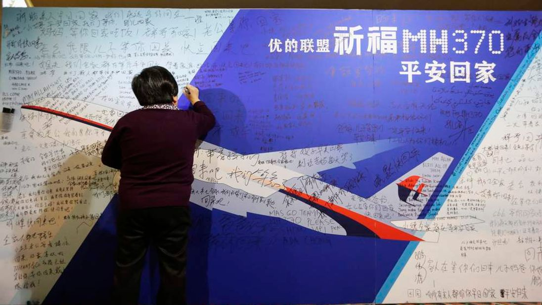 Missing Malaysia Flight MH370 Tribute Wall