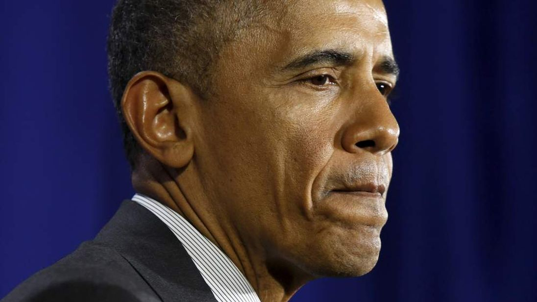 Obama delivers remarks at Lehman College in New York