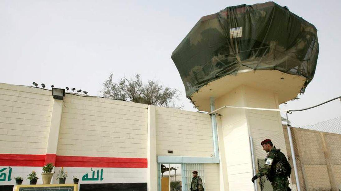 Abu Ghraib prison on the outskirts of Baghdad