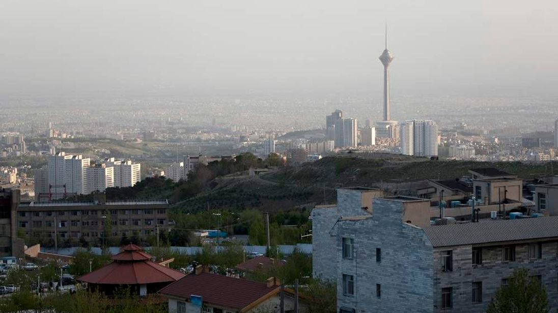 General view of Tehran's cityscape is seen from north Tehran
