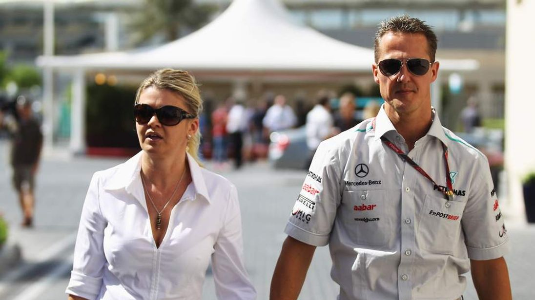 Michael Schumacher and wife Corrina