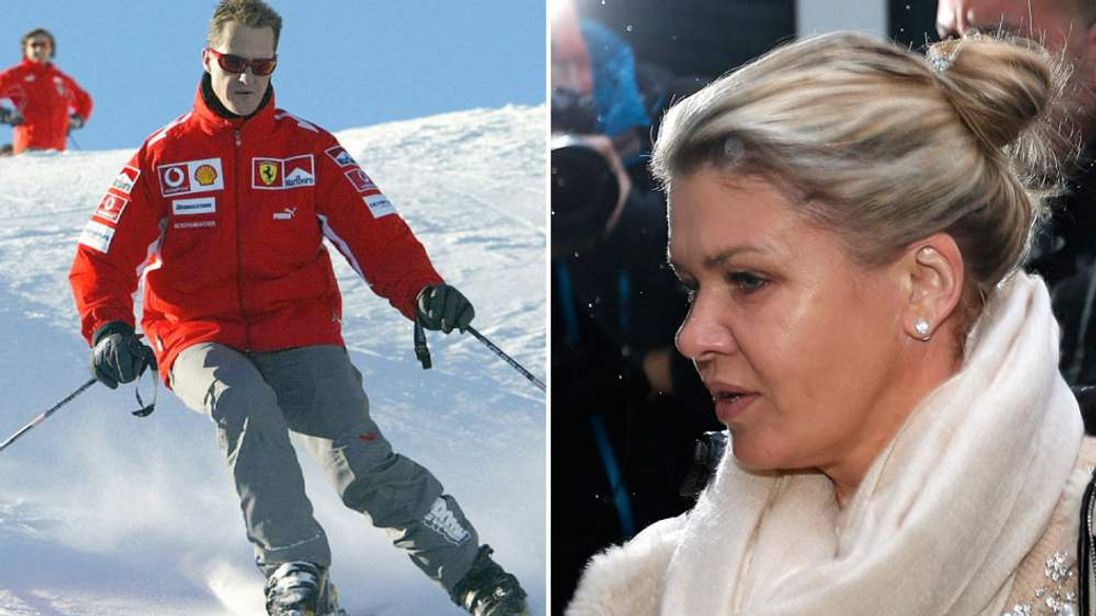 Michael Schumacher and his wife, Corinna
