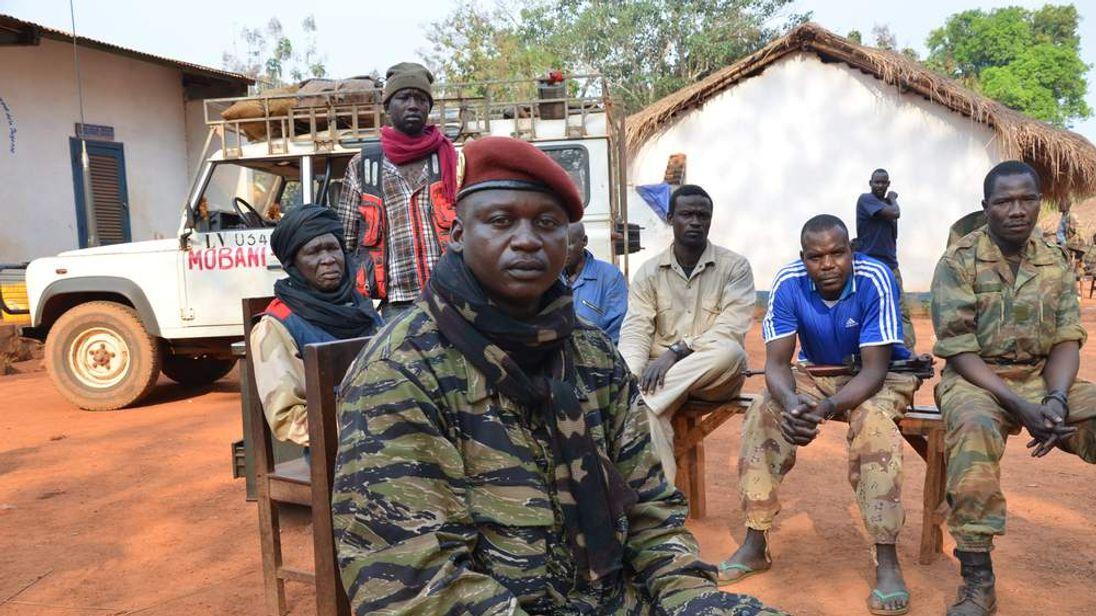 Seleka spokesman Col Djouma Narkoyo in the Central African Republic