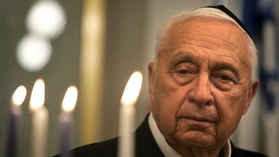 Ariel Sharon in 2005