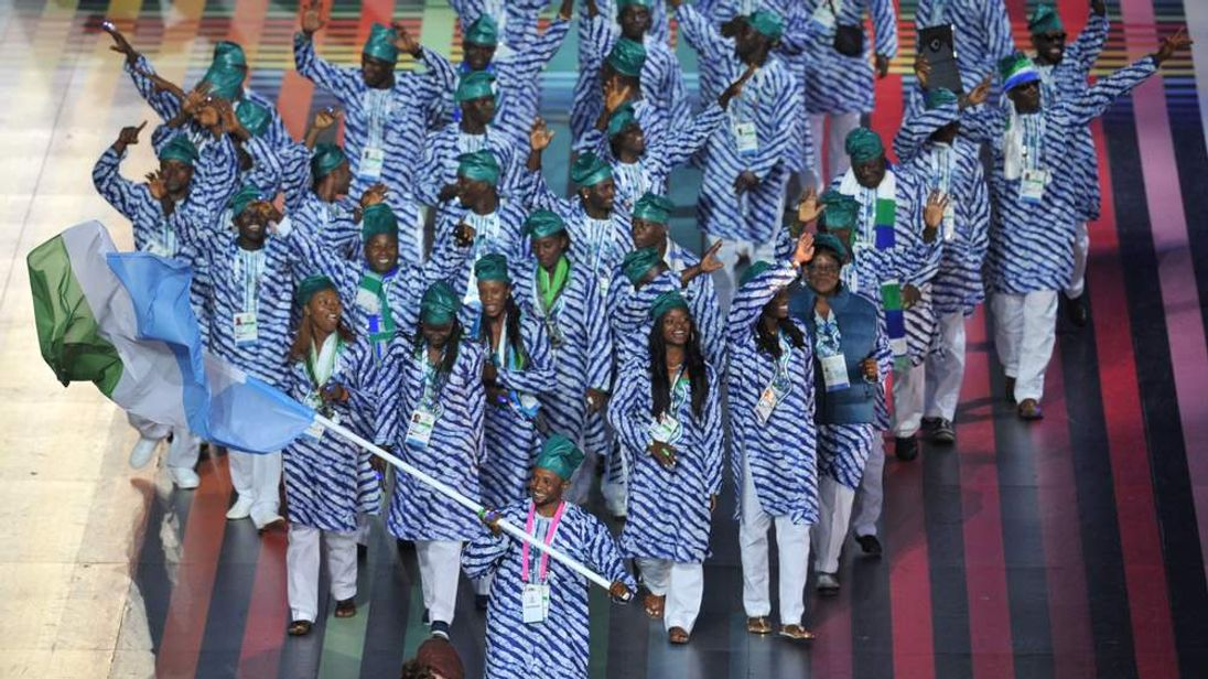 Sierra Leone's Commonwealth Games team is said to be afraid to go home
