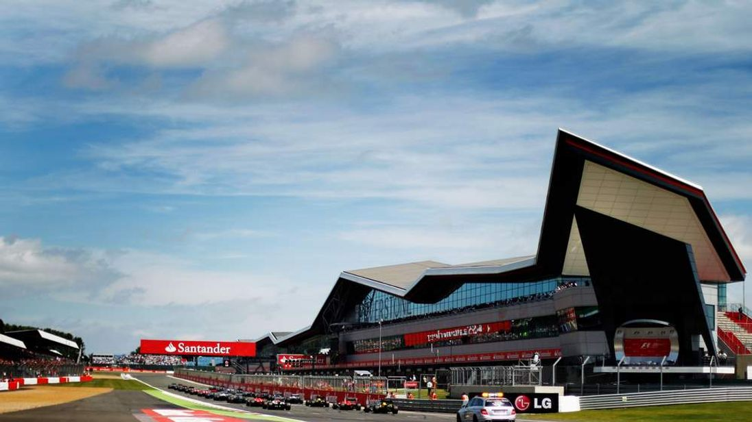 Silverstone Circuit During British Grand Prix