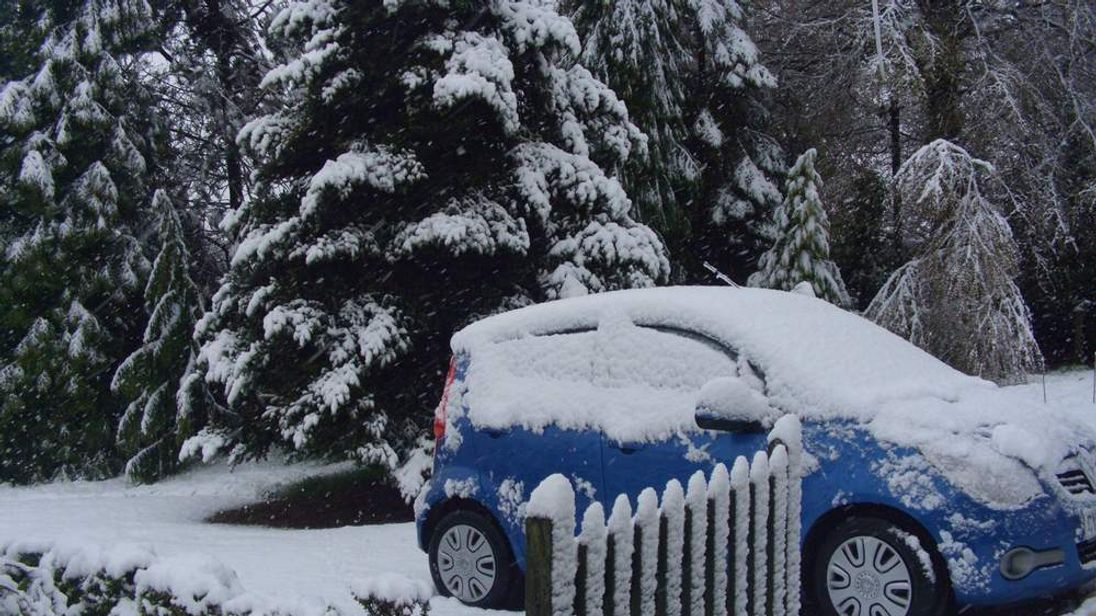 Snow in South Shropshire