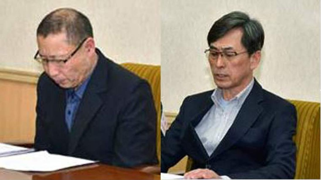Two pastors who are accused by North Korea of being spies