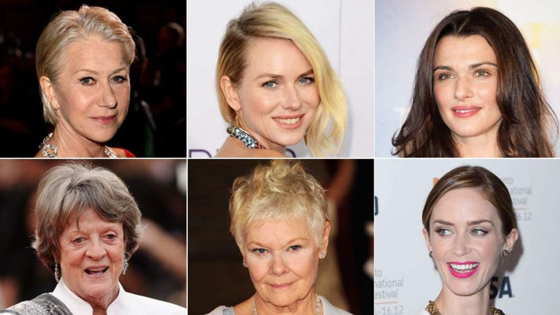 British actresses lead the pack vying for gongs at the Golden Globes.