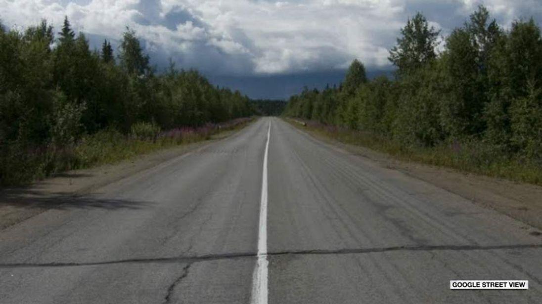 Road in Komi Republic, Russia
