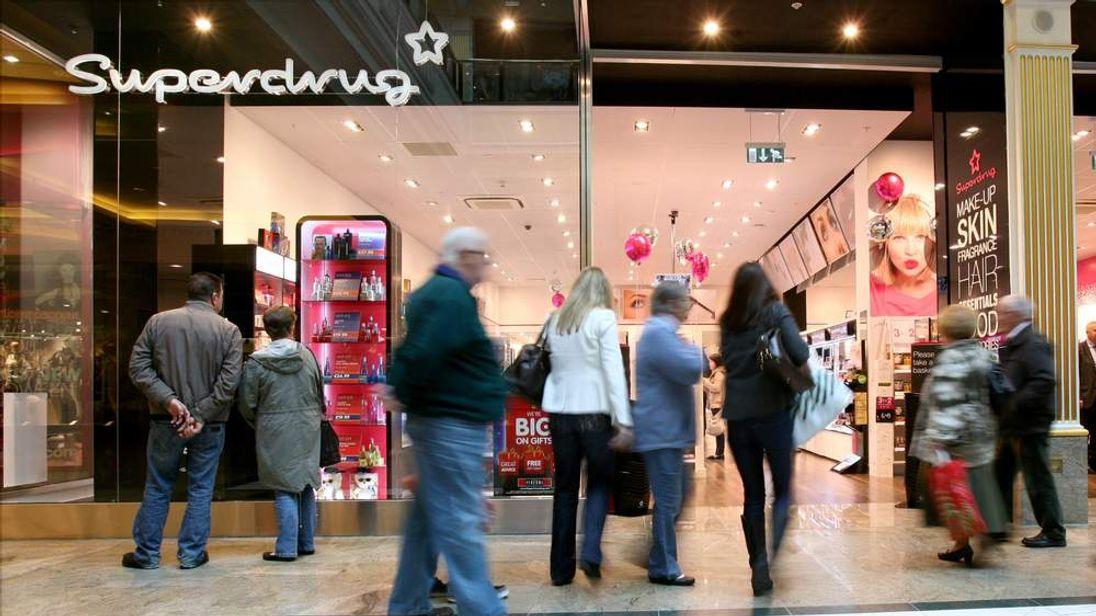 Superdrug Store Front (From Superdrug press image site)