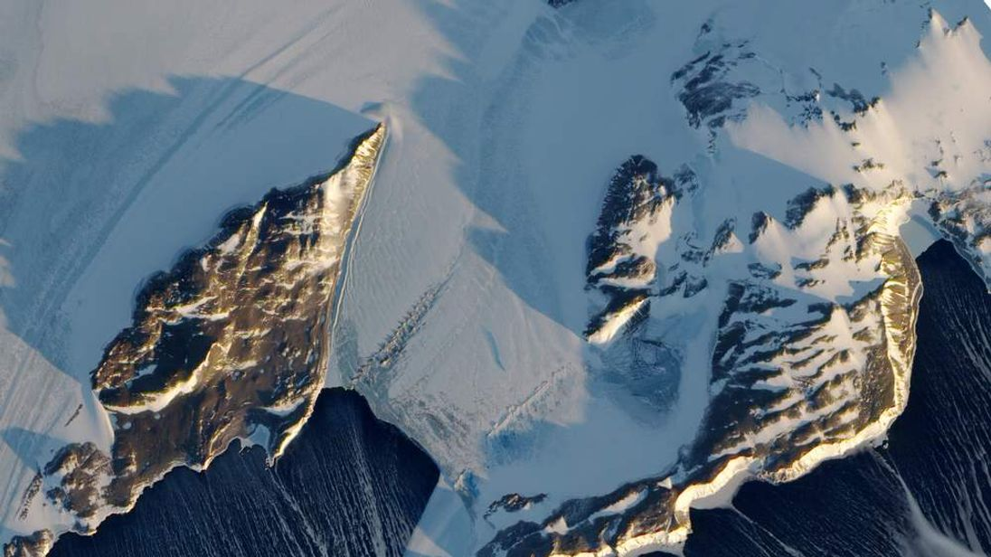 Terra Nova Bay, Antarctica. Photo courtesy of NASA