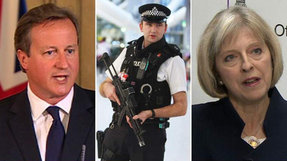 Terror threat level raised