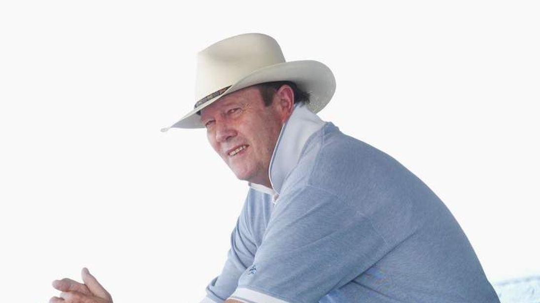 Former England cricket captain Tony Greig