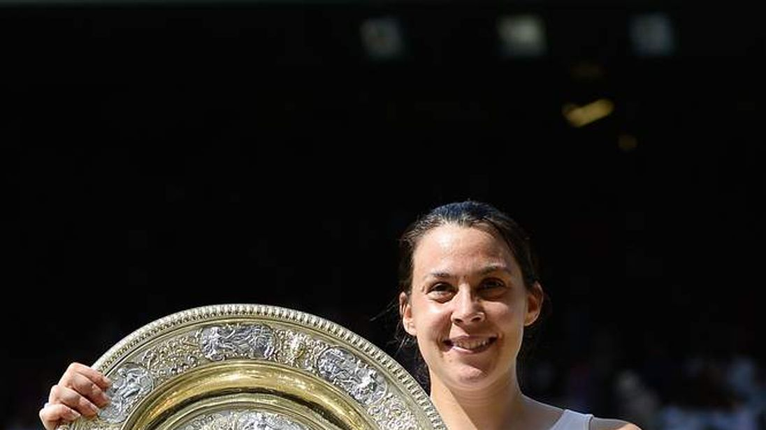 Marion Bartoli wins Wimbledon