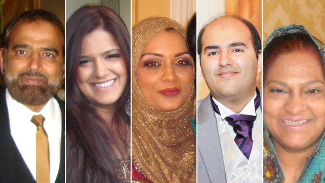 Family killed in Saudi car crash
