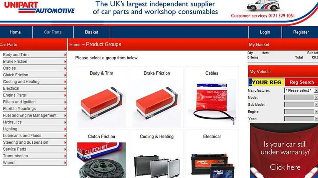 Unipart Website