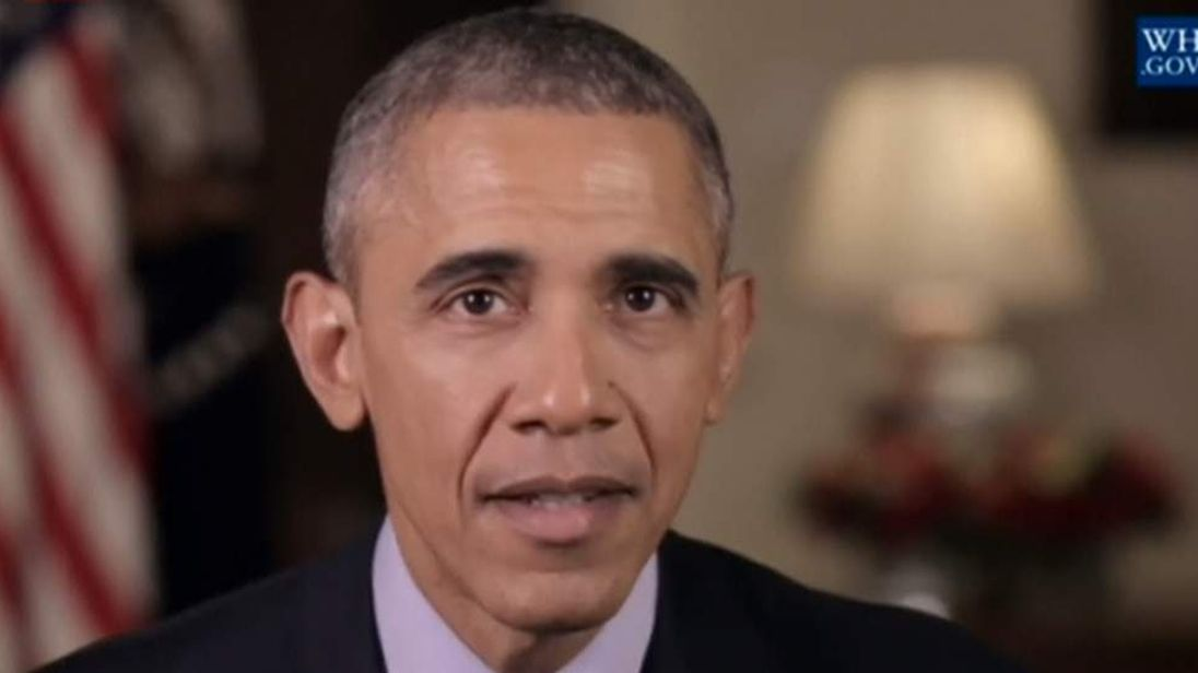 Barack Obama's New Year message