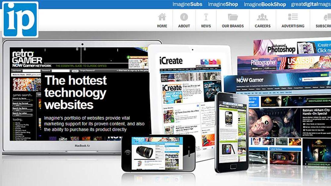 The Imagine Publishing website