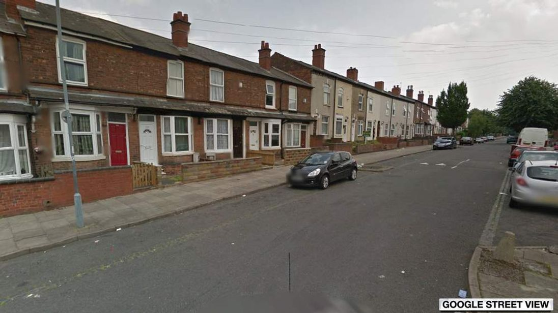 James Turner Street in Winson Green, Birmingham. Pic: Google