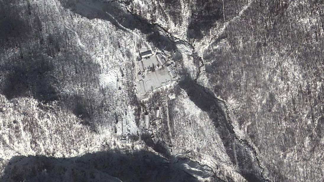 Punggye-Ri nuclear test facility in North Korea. Image courtesy of Google Maps