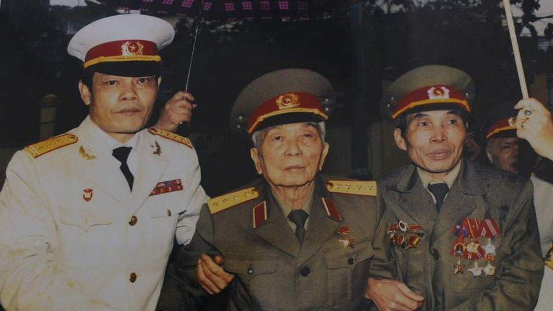 General Vo Nguyen Giap in 2012