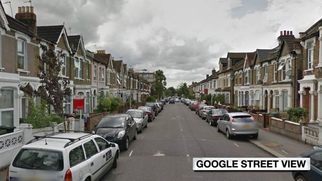 Google Street View of Hatherley Road, Walthamstow