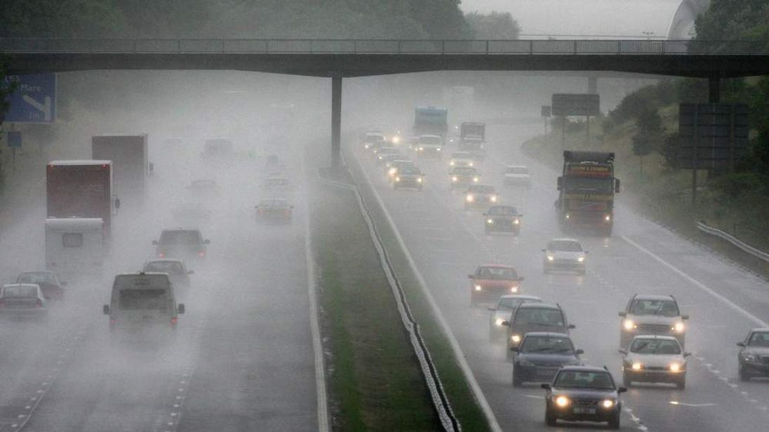 Motorists urged to take care in wet weather