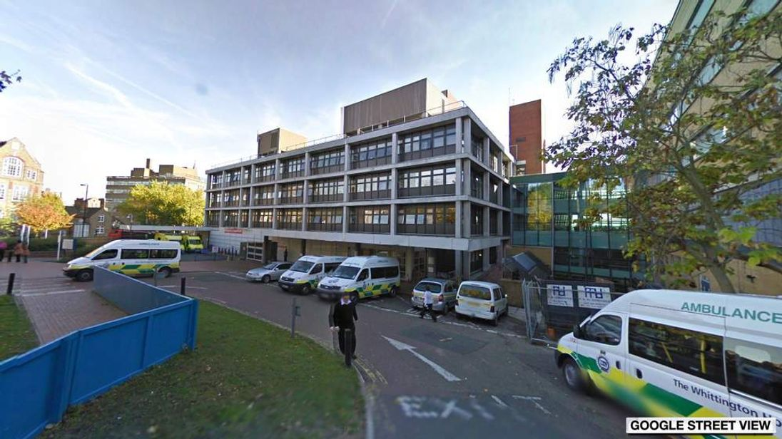 Google Street View image of Whittinton Hospital in London