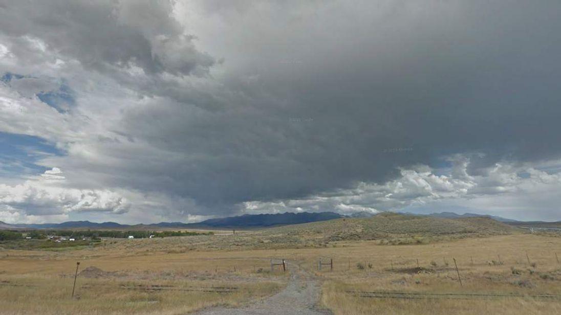 The scene overlooking the Anzicks' ranch in Wilsall, Montana