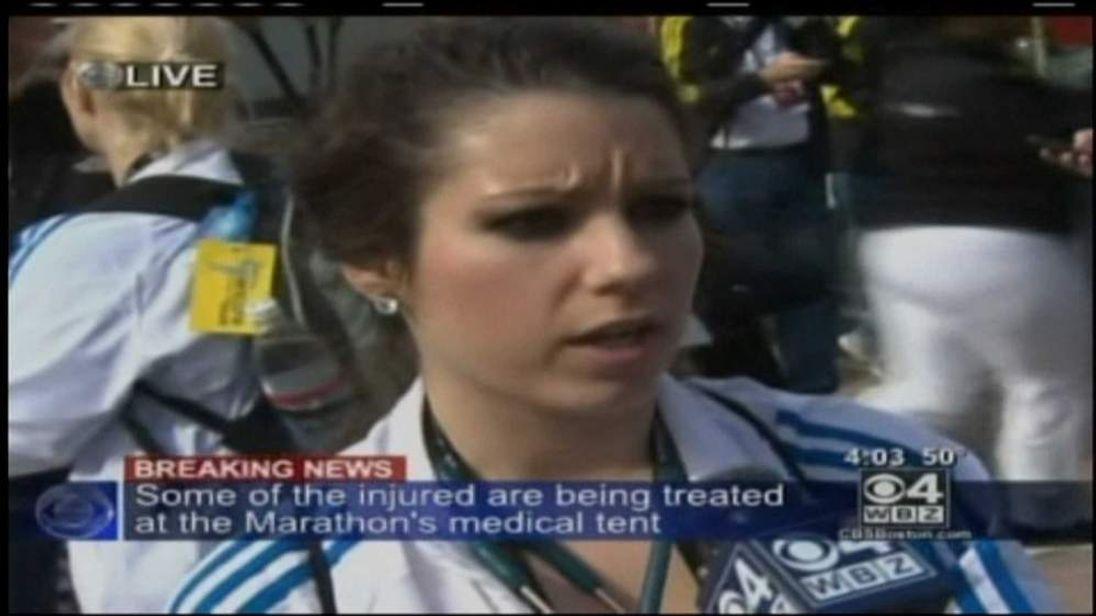 Emergency services worker describes Boston blast