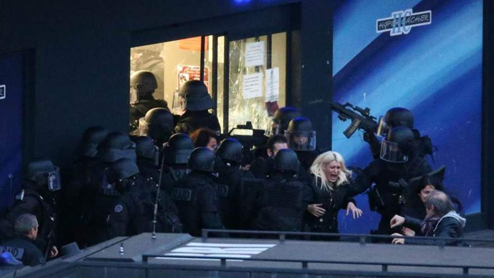 Paris attack on kosher supermarket