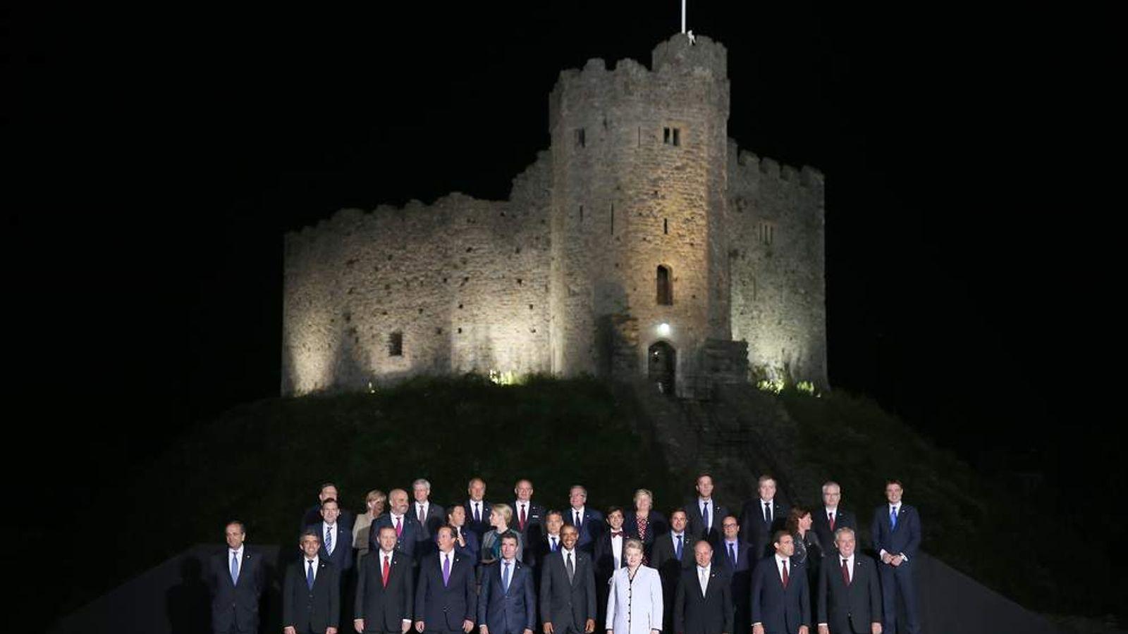 Nato Summit 2014 Family Photo