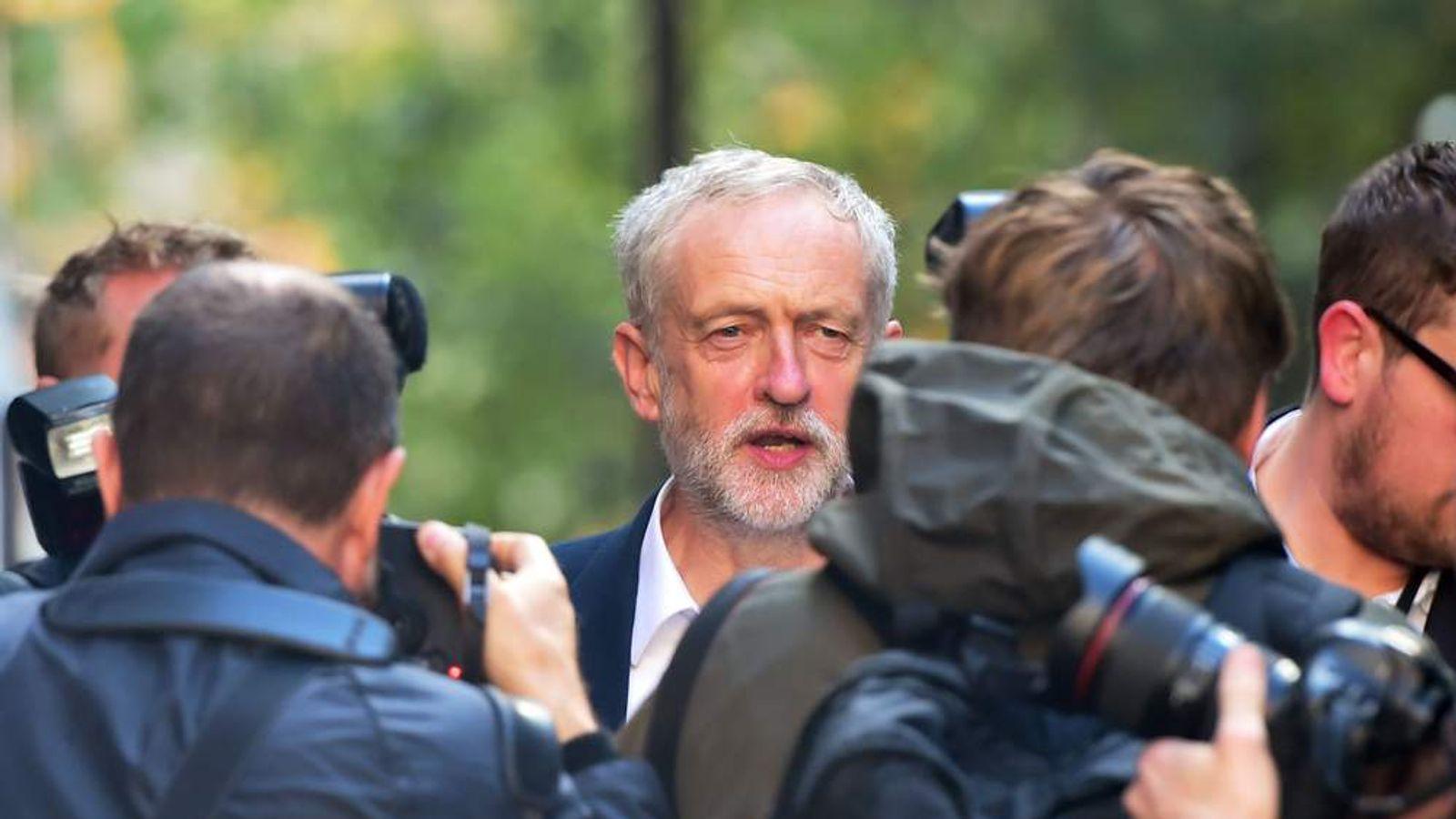 Jeremy Corbyn's shadow cabinet