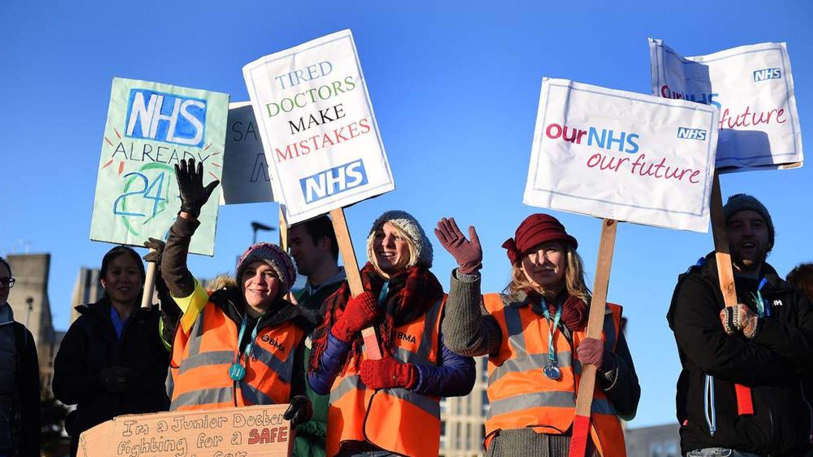 Dispute over doctors' contracts