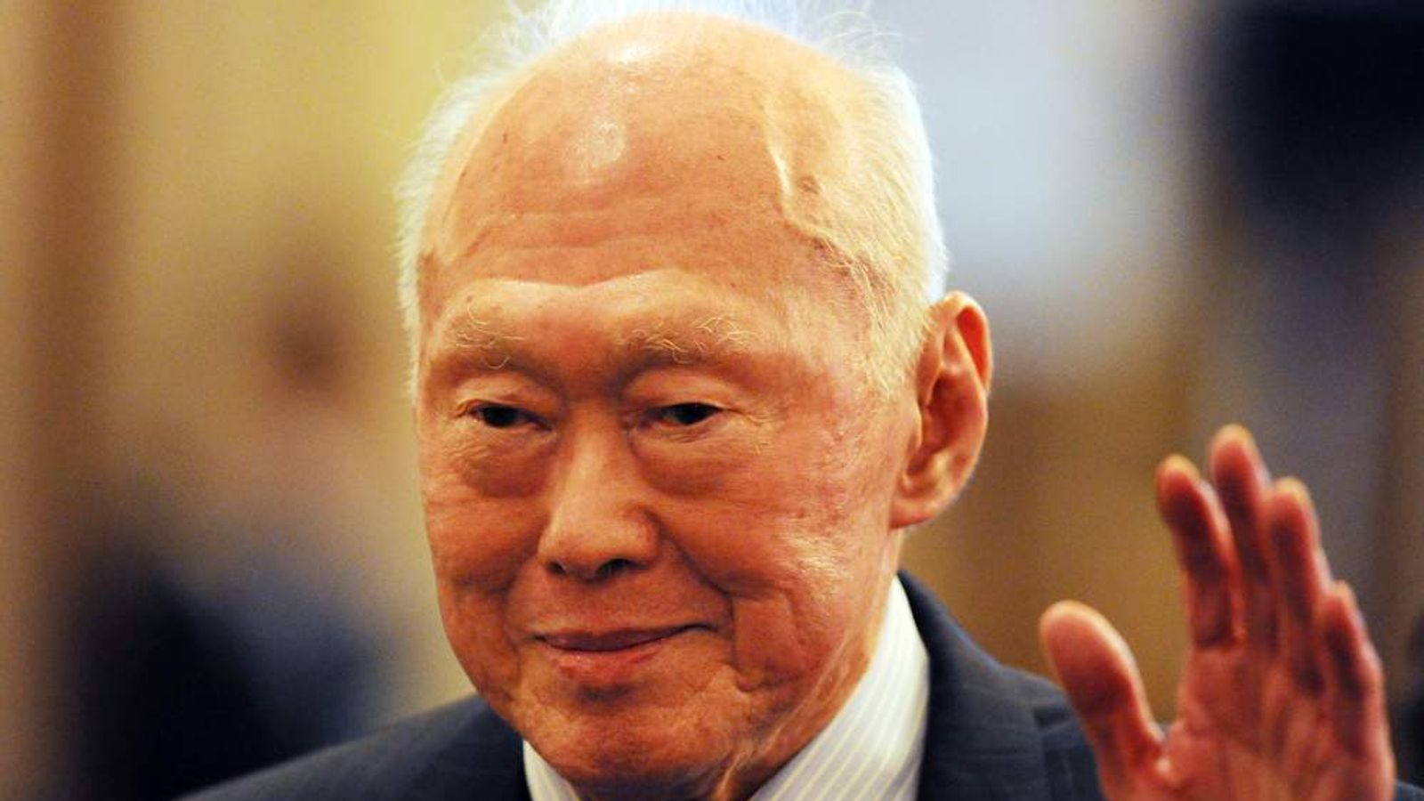 Former Singapore Prime Minister and curr
