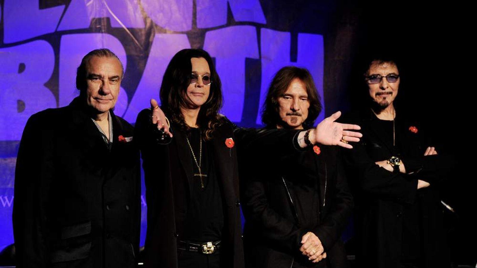 Black Sabbath Press Conference