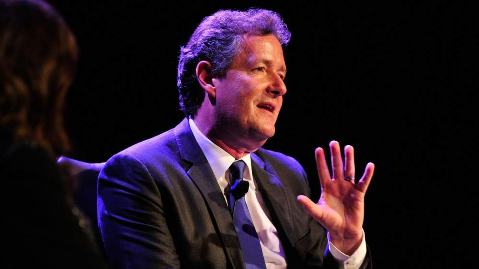 "BritWeek 2012's ""Evening With Piers Morgan"" - Inside"