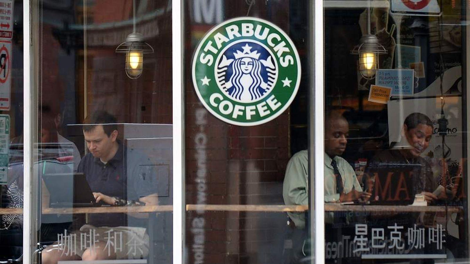 A Starbucks