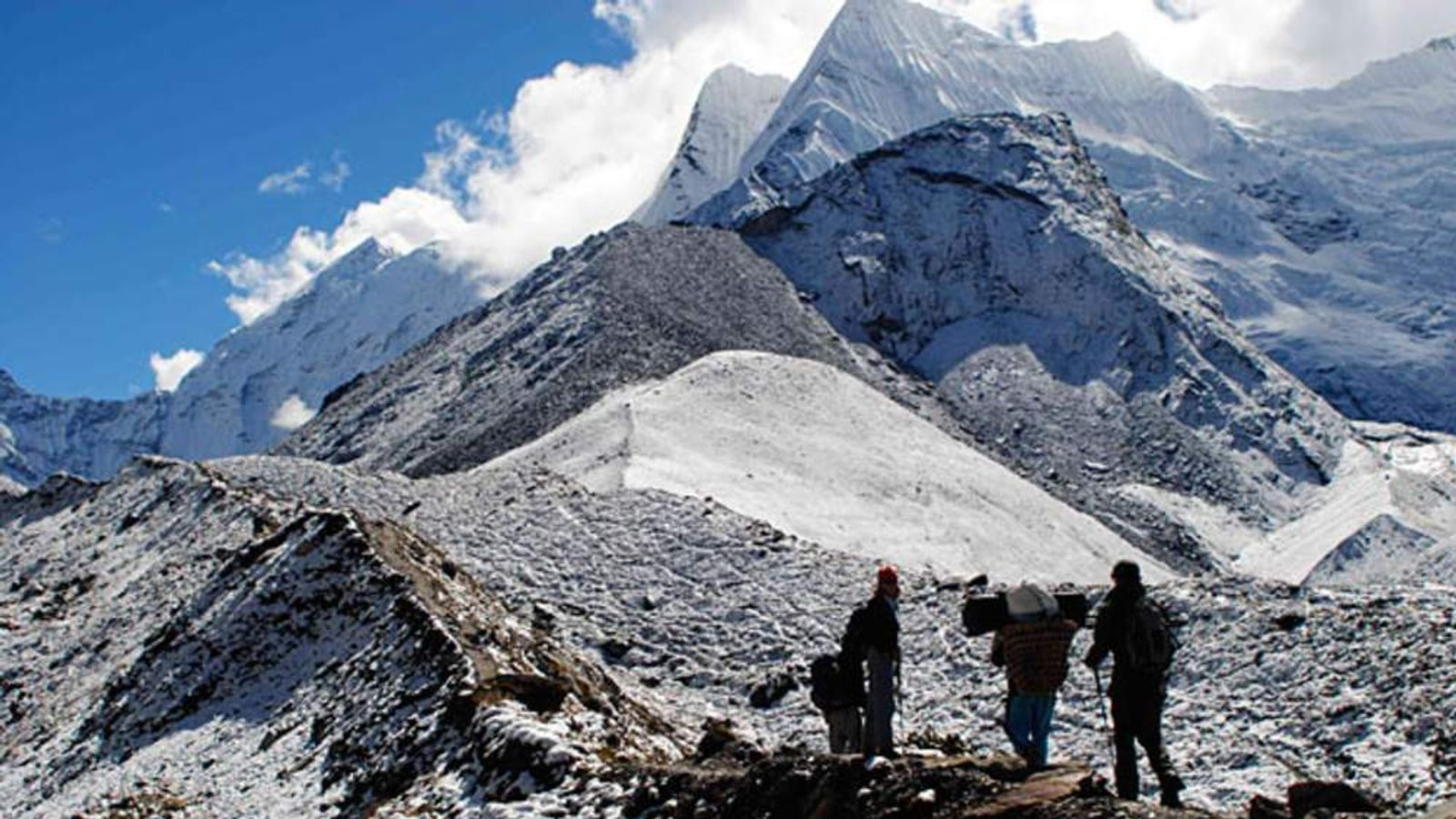 Sky News in the Himalayas