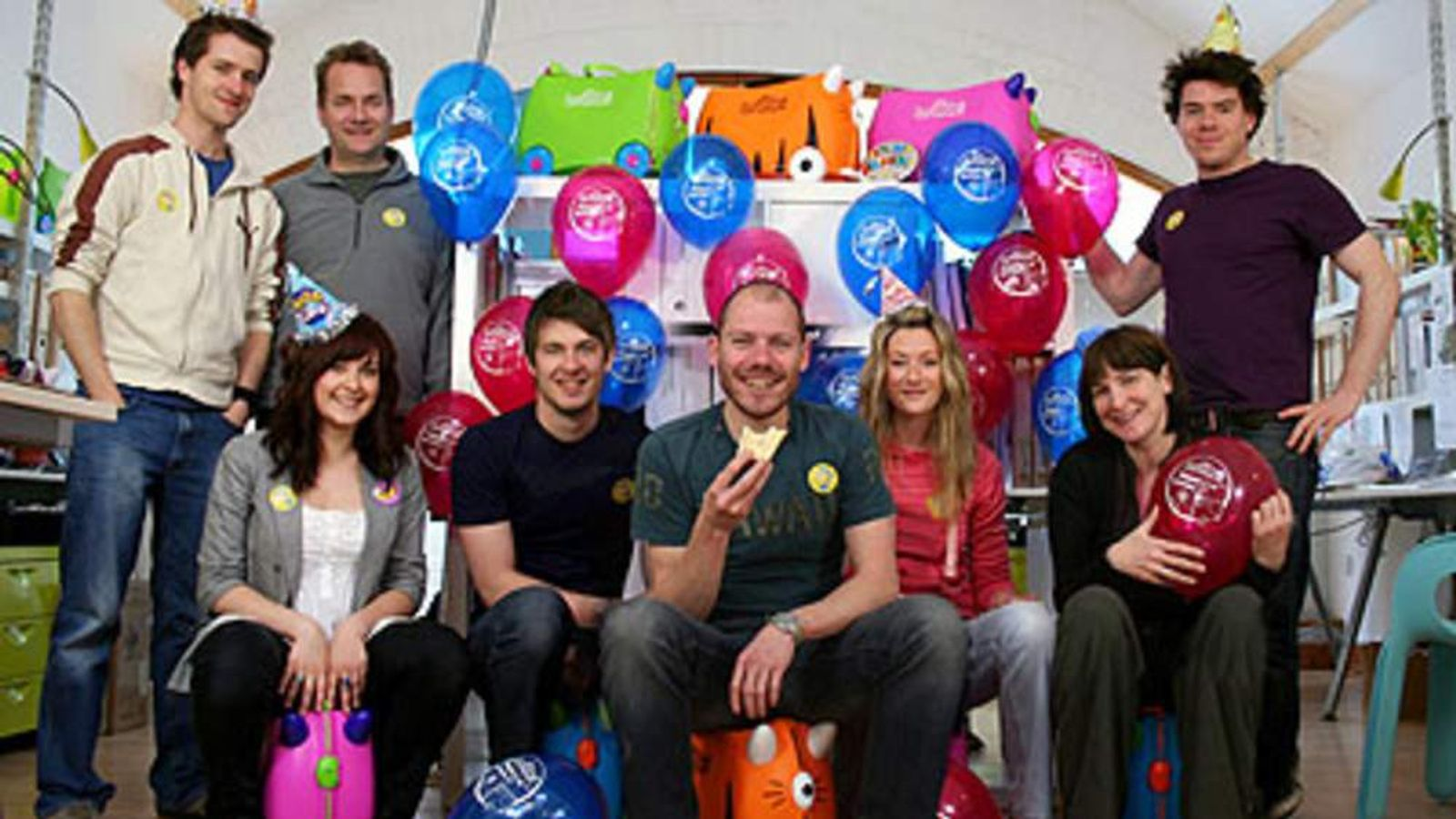 Rob Law and the Trunki team
