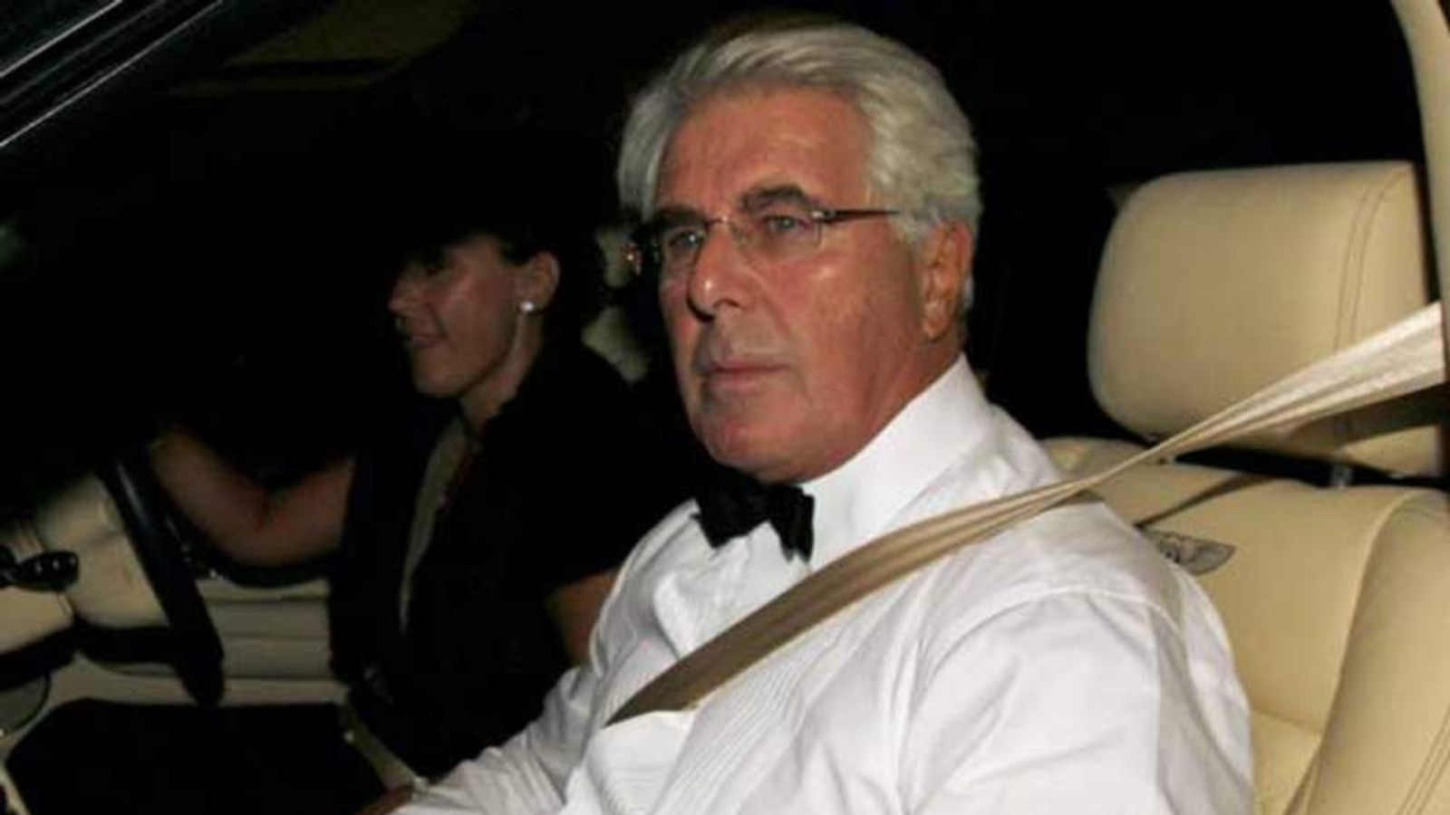 Publicist Max Clifford arrives for music and television mogul Simon Cowell's 50th birthday