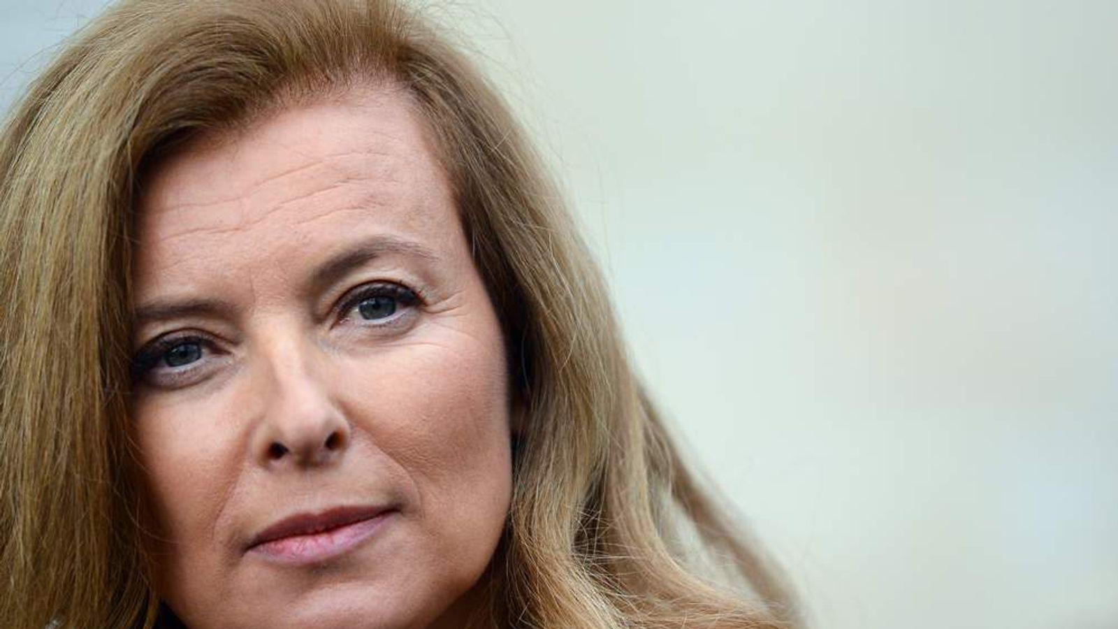 French first lady Valerie Trierweiler