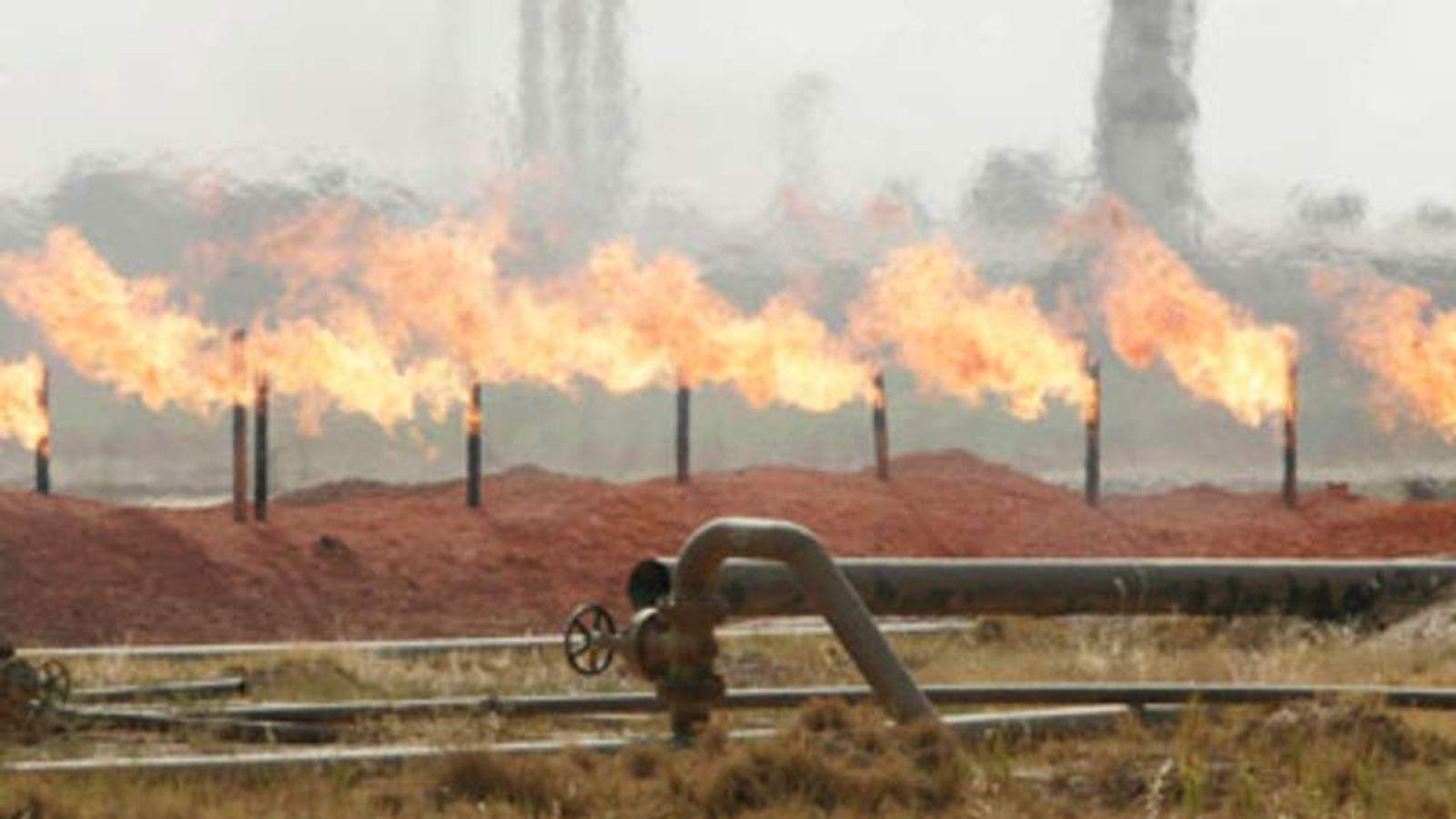 Iraq oil field