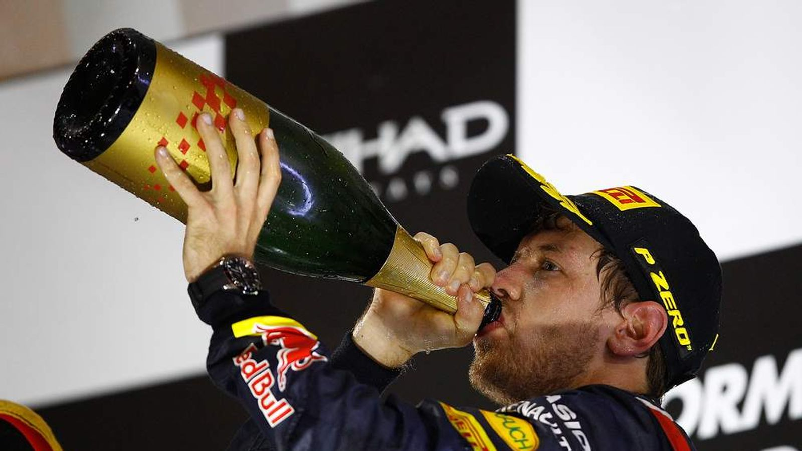 Sebastian Vettel finishes third in Abu Dhabi