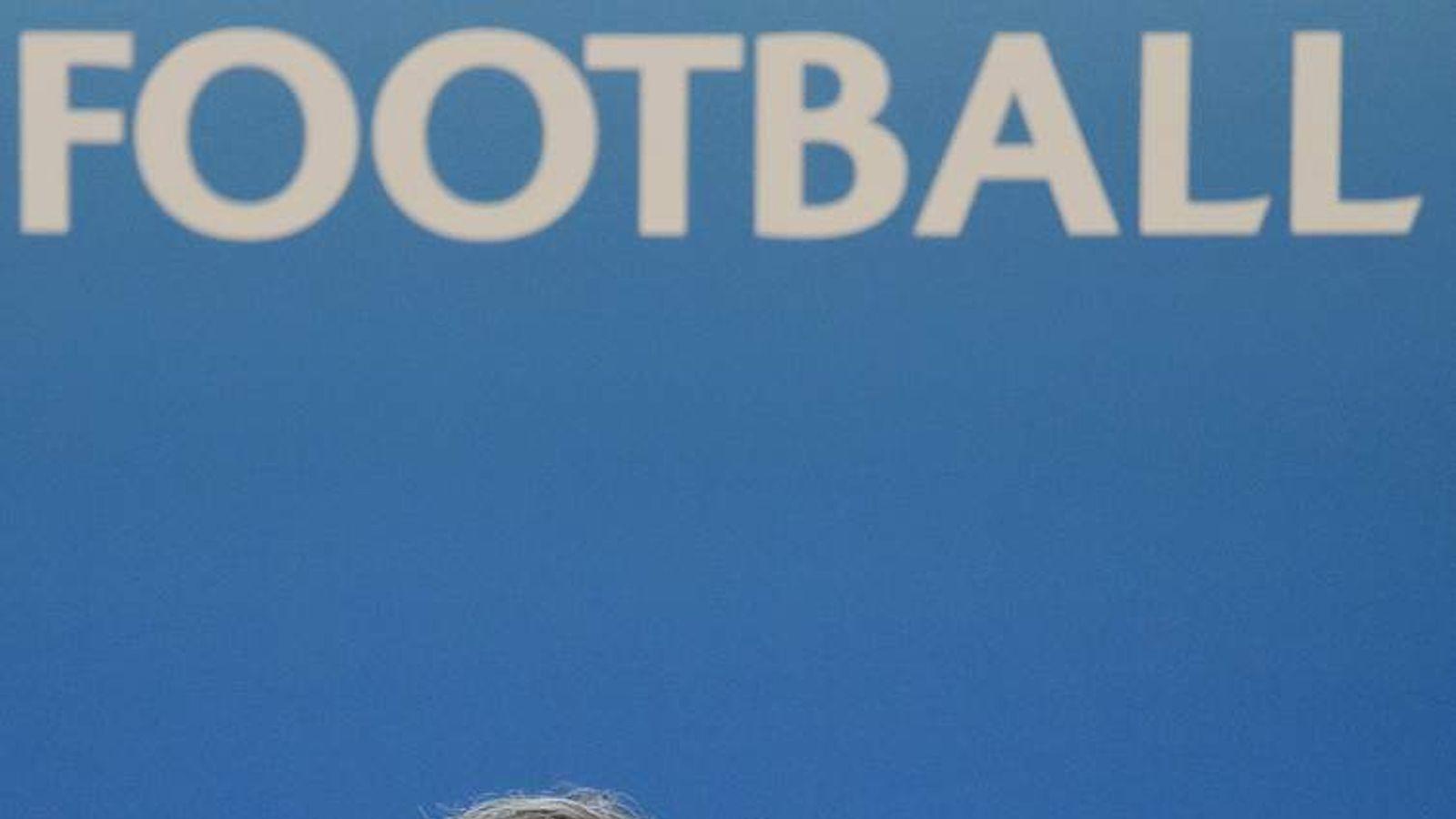 Platini at UEFA's meeting today
