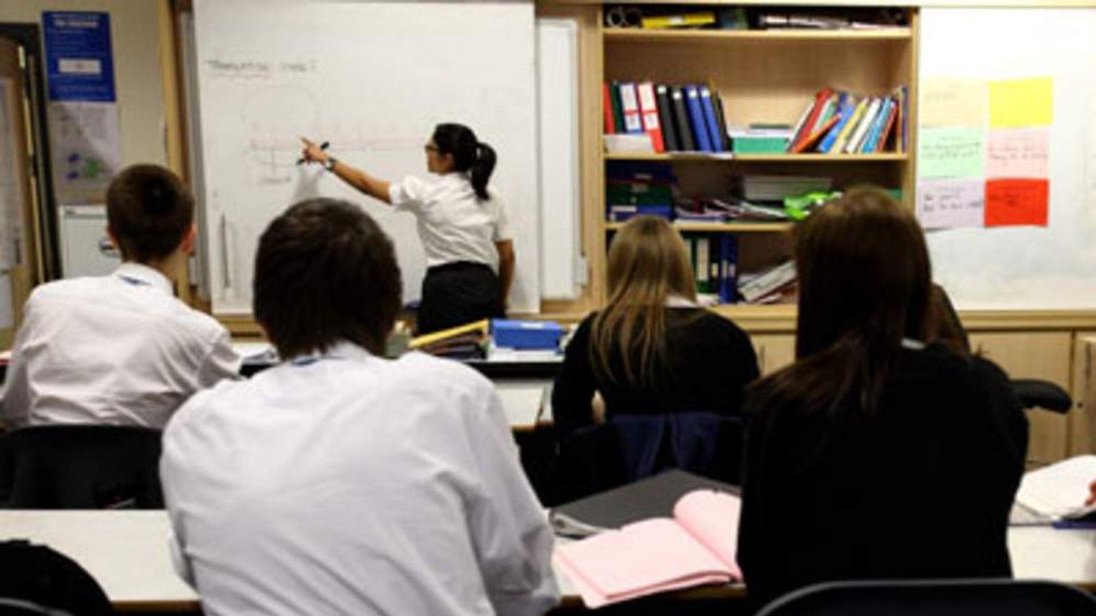 British classroom