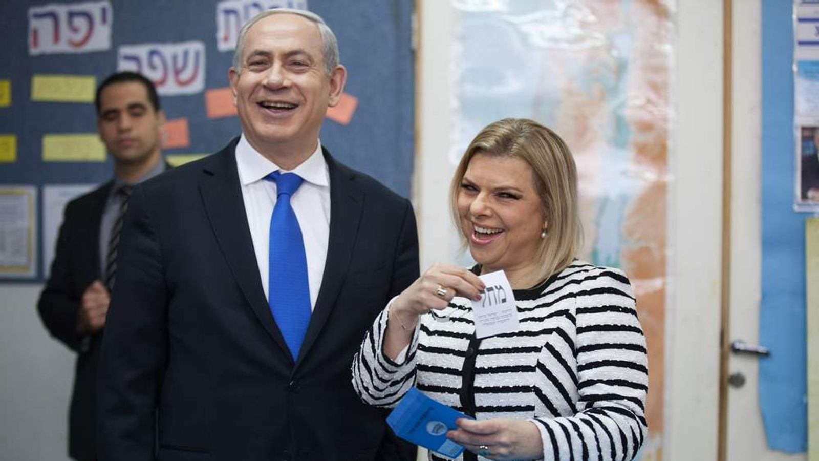 Netanyahu Casts His Vote In Israel's General Election
