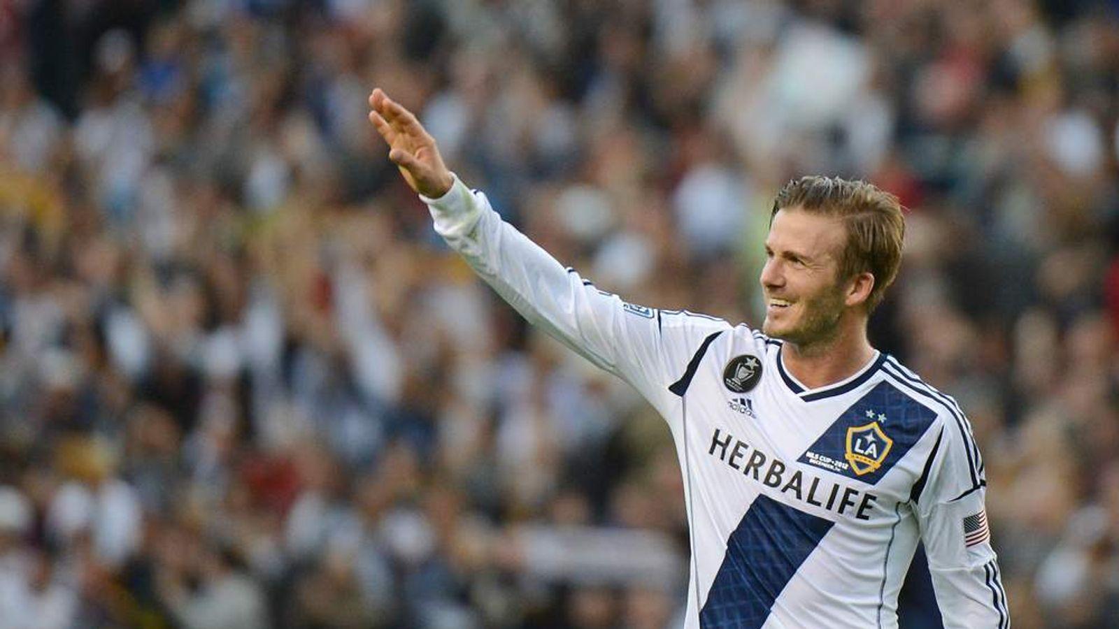 David Beckham Plays For LA Galaxy