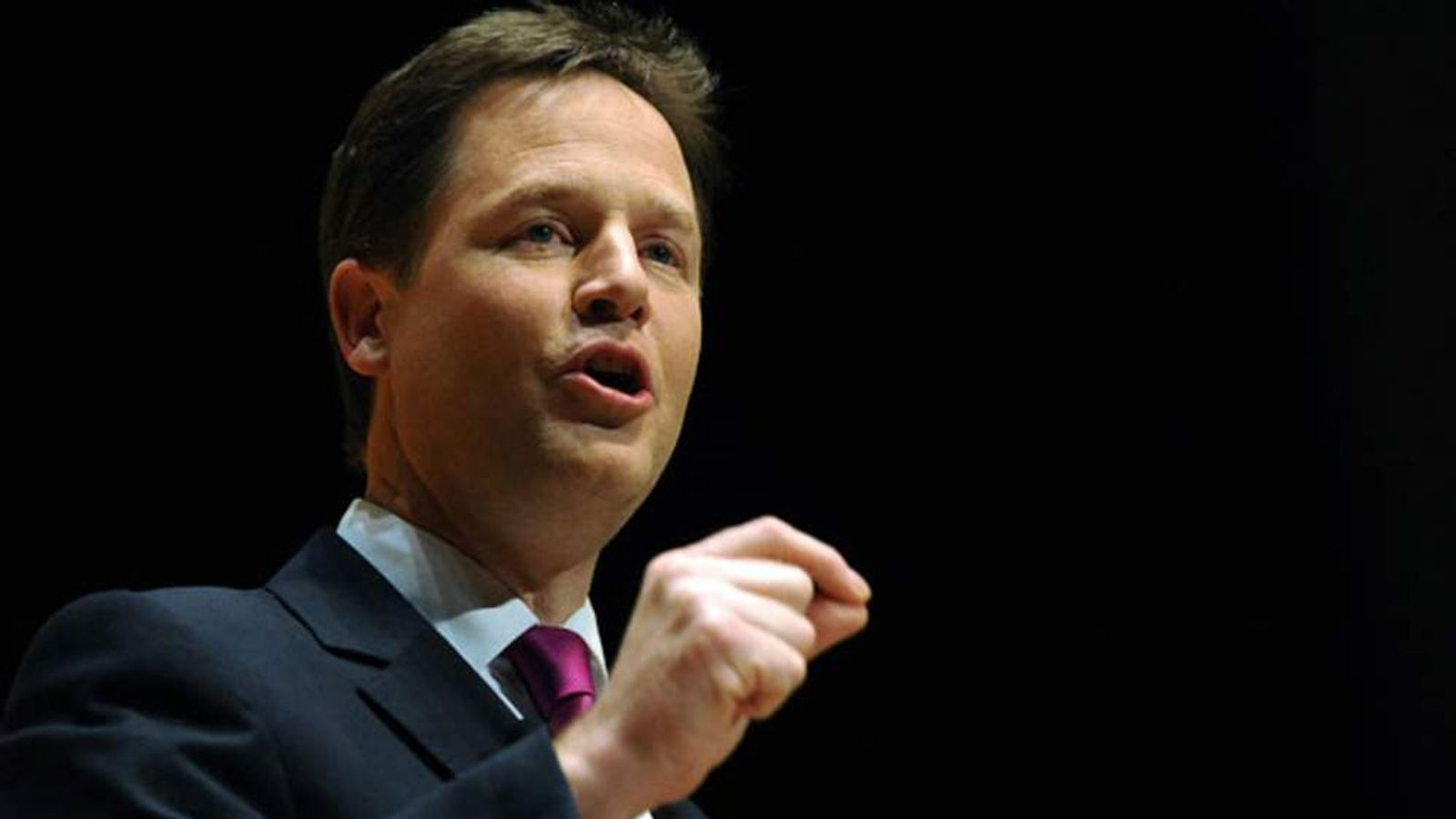 Deputy Prime Minister Nick Clegg will try to rally supporters